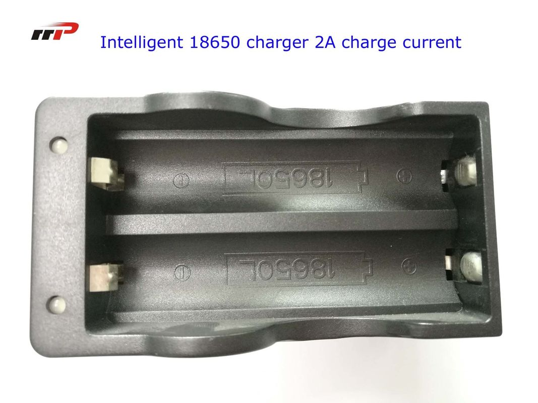 2 Slots 18650 Intelligent Battery Charger Led Display Fast Charging UL CE KC