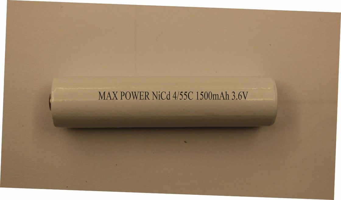 3.6V 4/5SC 1500mAh Torch Rechargeable Flashlight Battery Cylindrical