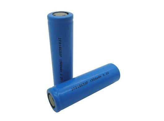 18650 Lithium LiFePO4 Battery 1500mAh Emergency Lighting 3.2V