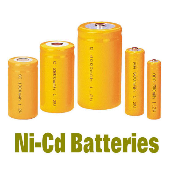 NiCd Battery Packs AAA300MAH , Rechargeable Batteries BackUP Power