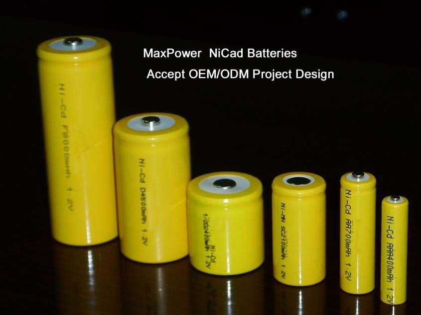 Customized 1.2Volt NiCd Rechargeable Batteries SC 2000MAH For Baby Monitor