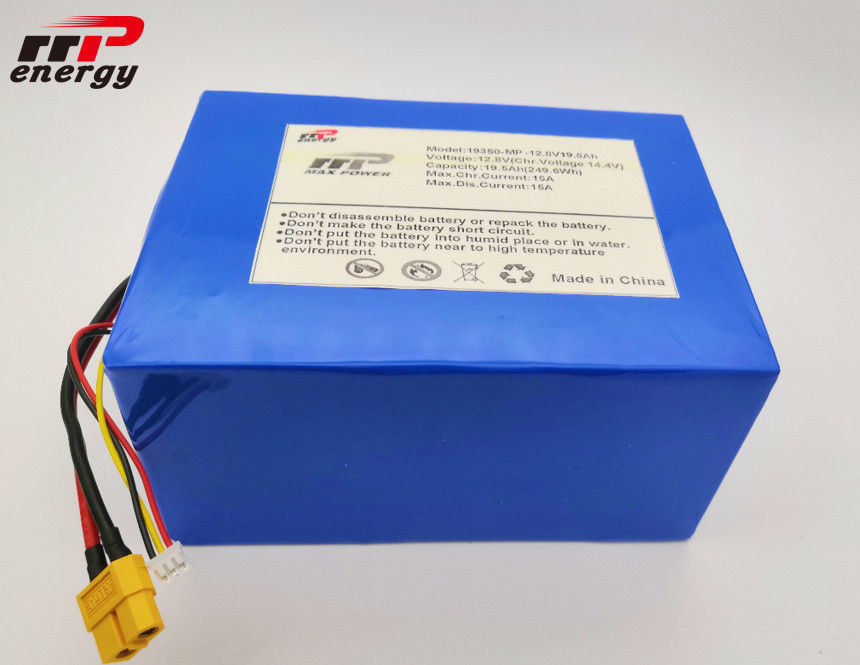 BMS RS232 Lithium LiFePO4 Battery 12V 20Ah Capacity For Solar System SOC XT60