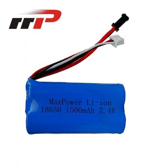 High Discharge Rate Lithium Ion Rechargeable Batteries